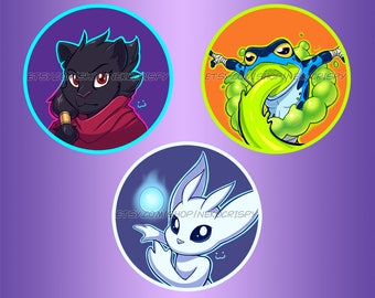 "Rivals of Aether DLC 2.25"" buttons"