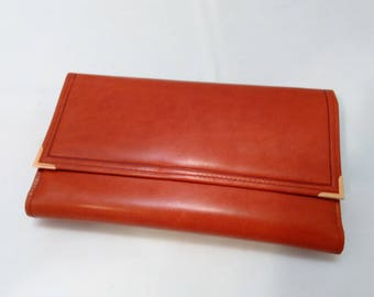 Vintage Collection - Large Princess Gardner Genuine Leather Wallet