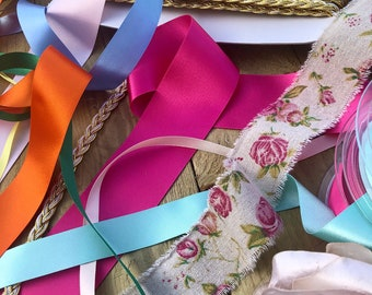- 1//2 Lkitty 1//2 inch x 50yard//roll Grosgrain Ribbon Crafts Fabric Solid Ribbons for DIY Gifts Wrapping Bow Party Decoration Wedding Flowers Hair Accessories,Width:13mm Blue Topaz