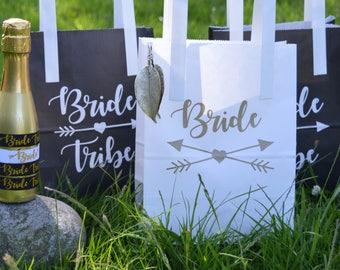 Bride Tribe Hen Party Bags - Hen Party Goody Bags - Hen Party Gift Bags - Hen Night Accessories