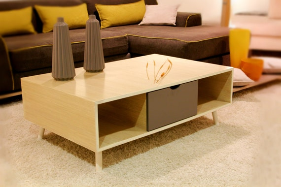 Cool Modern Coffee Table Drawer Sofa Table Country Style Mid Century Mid Mod Gmtry Best Dining Table And Chair Ideas Images Gmtryco