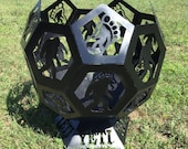 """18"""" Bigfoot (Yeti) Metal Fire Pit Sphere/Globe - UPS shipping available"""