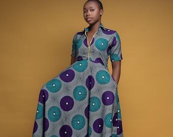 Women's Dress, Maxi Dress, Formal Dress, African Print Dress-African Clothing-Ankara Clothing-Ankara Dress