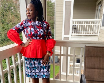 African Clothing for Women-African Clothing-Formal Dress for woman-Women's Clothing-Evening Gown-African Fashion-African Fabric
