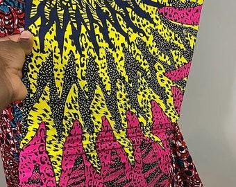 African Fabric by the Yard, Ankara Fabric, Fabric by the Yard, Craft Fabric