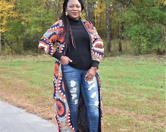 Ankara Jacket, Ankara Kimono, African Print Kimono, African Print Jacket, Women's Clothing, Kimono