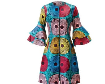 African Clothing for Women-Mother's Day-African Print Coat-African Print Jacket-African Jacket-Women's Clothing-Ankara Clothing-African