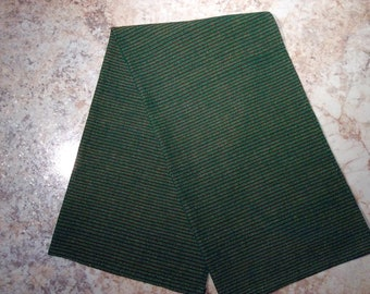 100% cotton handwoven dishcloth.green and red  linen. Hand woven on traditional loom