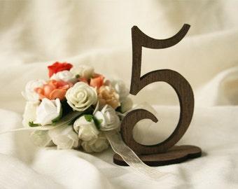 mariage table numéros (lot de 10) table en bois chiffres - mariage rustique - table numéros mariage - numéros de table rustique