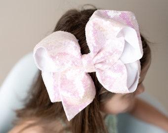 dd9076092 Sequin hair bows