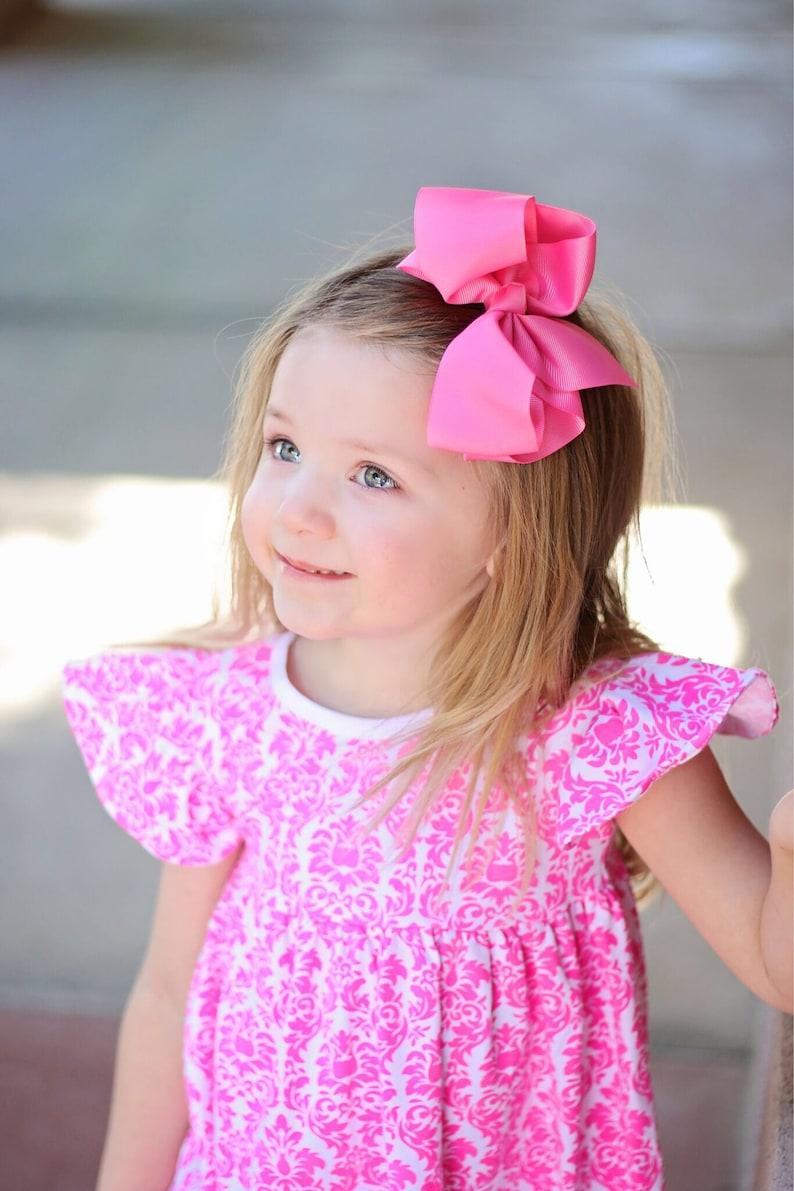 20Pcs Boutique Girls Kids Children Flower Jewel Hair Bows Alligator Clips 009