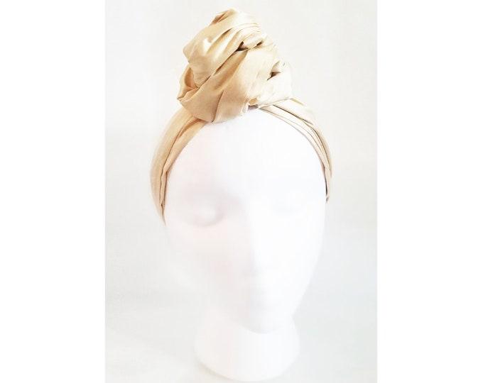Sheila Moldable Headband-Soft Yellow