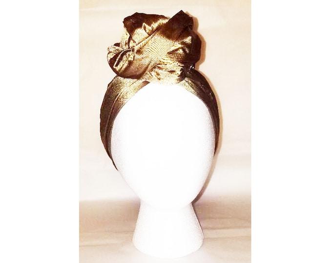 Sheila Moldable Headband-GOLD