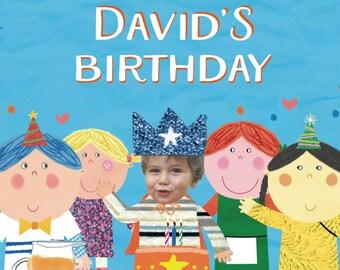 Boys birthday book, first birthday gift, Birthday Story, personalized gift, custom birthday gift, story book birthday, boys birthday