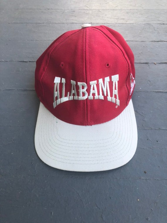 4f3f84255f7 ... crimson tide hat cap f6e96 5f82a  reduced vintage 80s 90s university of alabama  hat 324c5 594f4