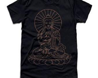 139705f168 Buddha graphic Print Men's & Unisex crew neck t-shirt