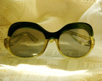449c83a6afa Large Vintage Retro Polaroid 1839 1960s   1970s Oversized sunglasses. Made  in France