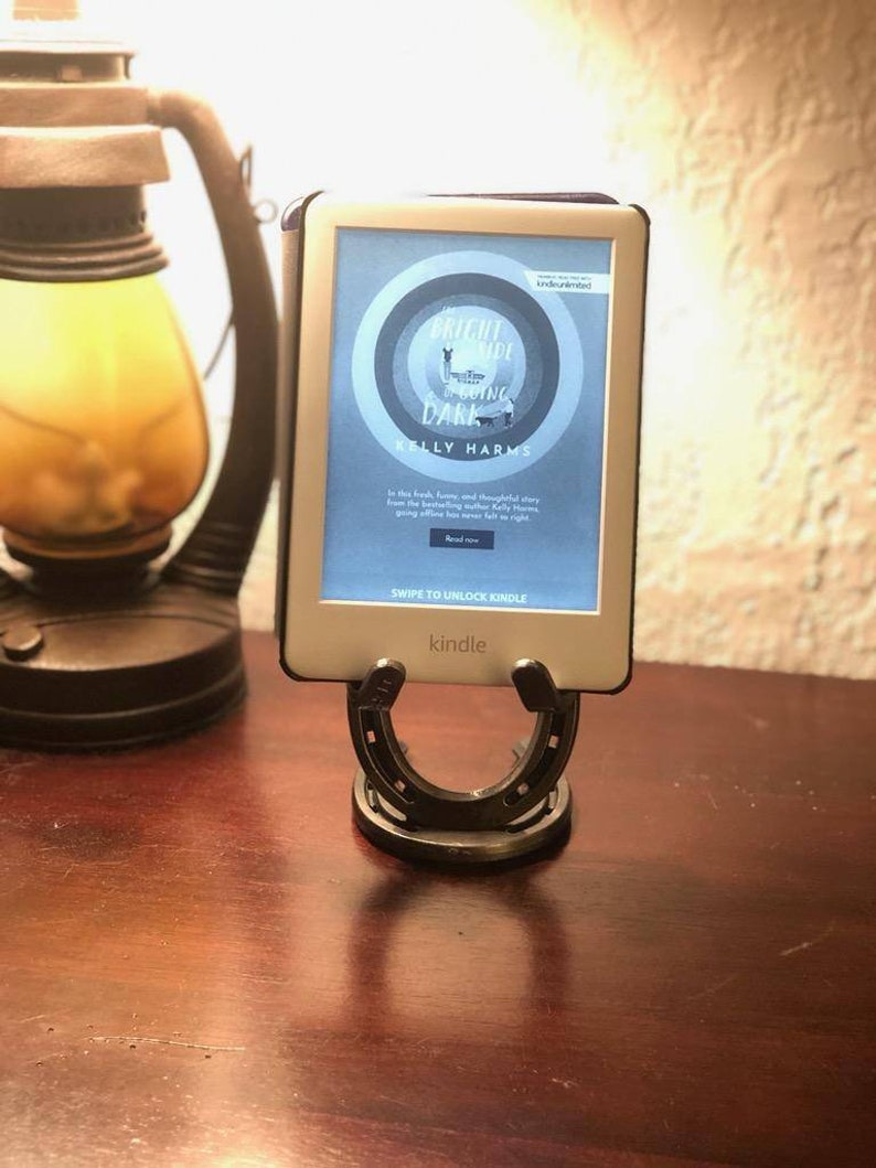Horse Lover Gift Holiday Gift for Horse Lover Holiday Gift for Him Cell Phone Holder Cell Phone Stand Horseshoe Gift