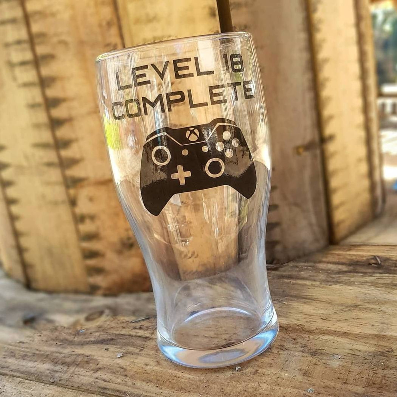 Gamer Pint Glass