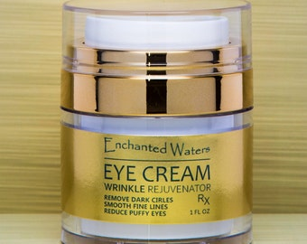 UNDER EYE CREAM/Gel - Remove Dark Circles, Crows Feet, Bags, Wrinkles, Puffiness - Lift-Firm Sagging Eyelids, Smooth Fine Lines - Anti-Aging