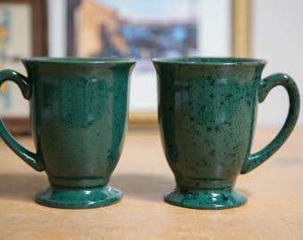 Set of Green Bailey's Mugs