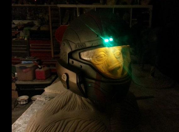 Items Similar To Halo Nightfall Helmet Signed By 343i On Etsy