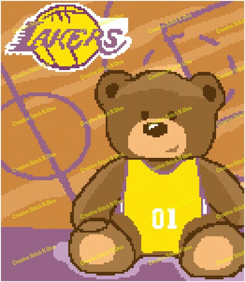 Lakers Teddy 130x150