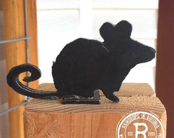 Steel Garden Sculpture 'Mouse'