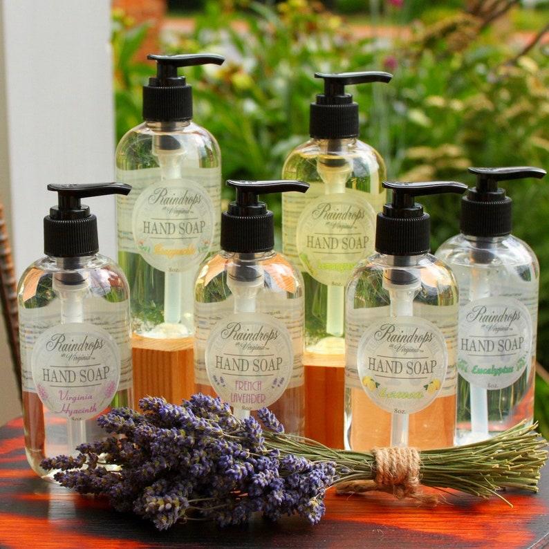 RiV Handmade Hand Soap 8 Oz. image 0