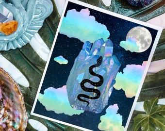 Crystalline Dreams Print