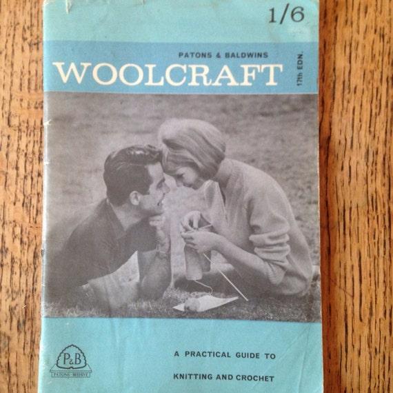 Vintage Knitting Patterns Patons And Baldwins Woolcraft Etsy