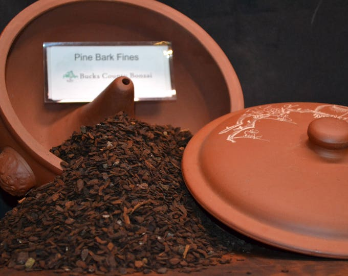 Pine Bark Fines substrate - 1 gallon