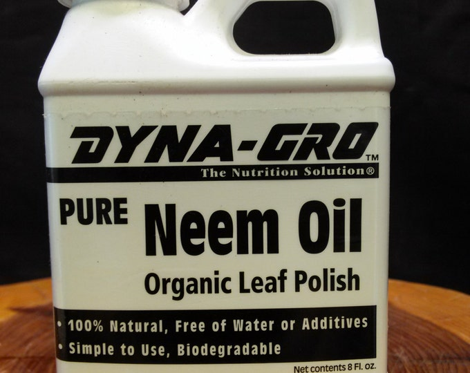 Neem Oil. - 8oz. concentrated.