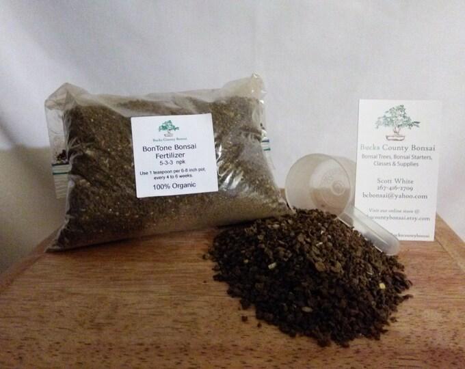1 lb. Bonsai Fertilizer, Bontone, Organic Bonsai Fertilizer, Slow Release Fertilizer