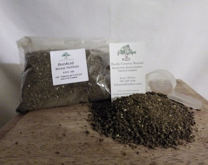 1 lb. Bonsai Fertilizer, BonAcid, Bonsai Fertilizer, Slow Release Fertilizer