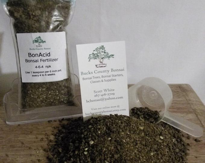 4 oz. Bonsai Fertilizer, BonAcid, Bonsai Fertilizer, Slow Release Fertilizer