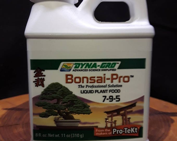 8 oz. Bonsai Fertilizer, DYNA GRO  Bonsai Fertilizer