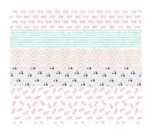 Farm, cowgirl, pig, tractor baby blanket // Whole Cloth Quilt // Pink, Blue, Gray