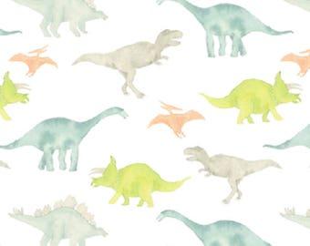 Dinosaur Baby Swaddle, Muslin Swaddle Blanket, Gauze Swaddle Blanket,  gender neutral, baby boy, baby girl