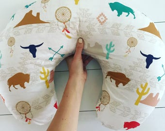 Southwest Baby Girl, Baby Boy Blanket, Boppy Cover, Crib Sheet, Changing Pad Cover, Gender neutral, Longhorn, Buffalo, Arrow, Cactus