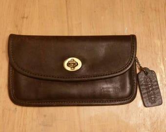 Vintage Coach wallet with tag.