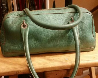 Vintage Italian leather Monsac handbag, purse, shoulder.(Reserved for Dom, please do not purchase, thanks!)