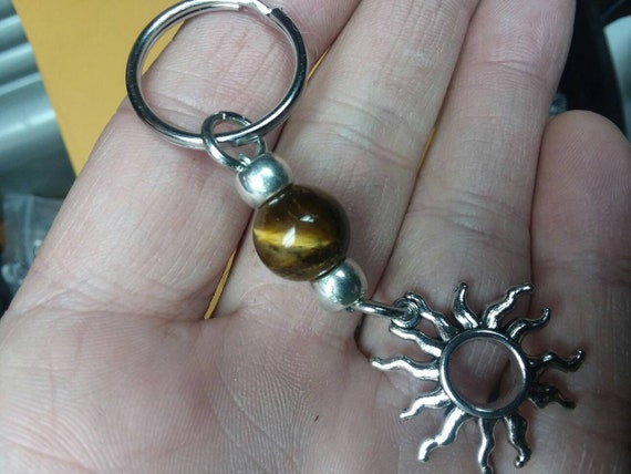 rocker gift for him choose chain boheme gift for teenager gift for her Tiger eye sterling silver Necklace for both him and her