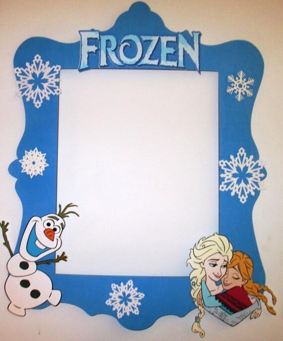 Congelados foto cabina marco grande como un apoyo de cabina de