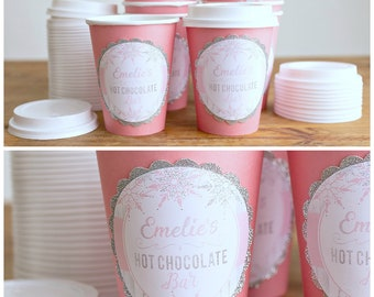 Hot Cocoa Cups Etsy