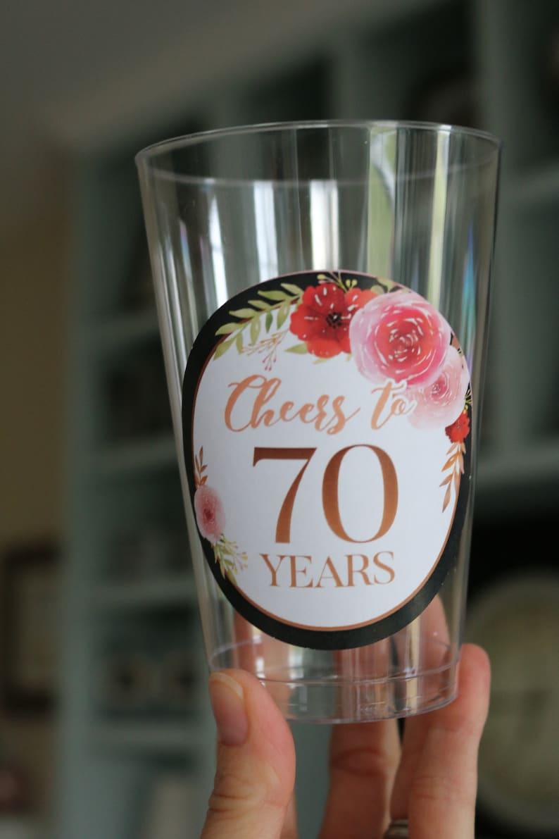40th Anniversaire Cadeau 40th Anniversaire Verre à Vin Charme 40th souvenir,