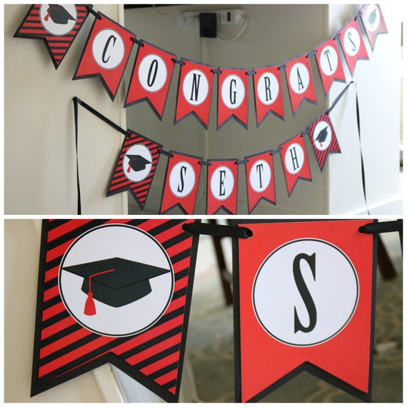Congratulations New Cat Personalized Banner Party Decoration