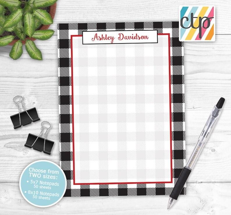 Teacher Gifts, Teacher Appreciation Gift Teacher Notepad Personalized Notepad