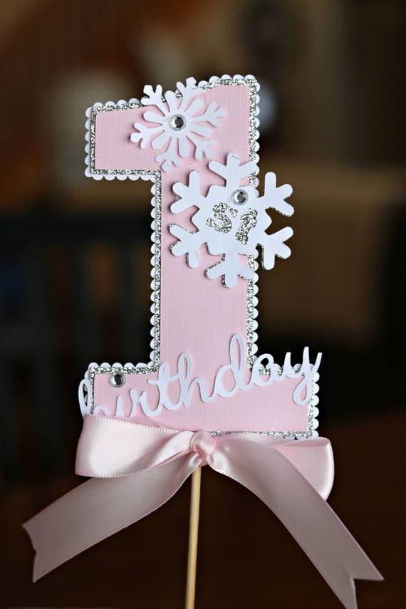Astonishing Girl Winter Onederland Cake Topper Smash Cake Snowflake Birthday Funny Birthday Cards Online Fluifree Goldxyz