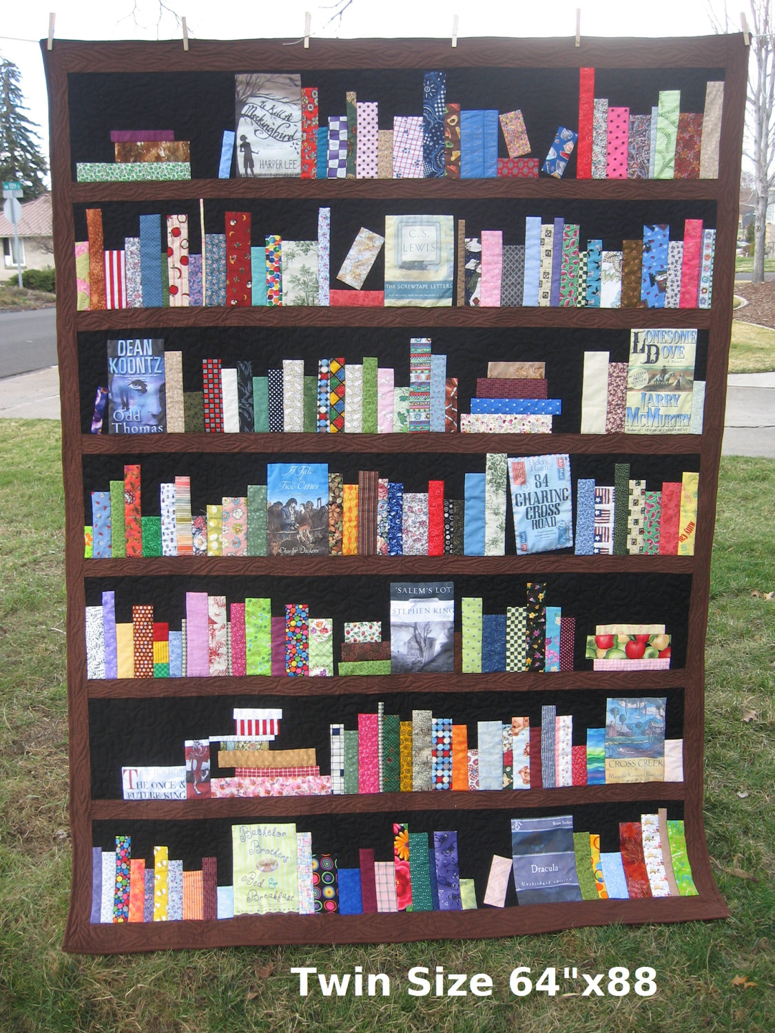 Bookcase Quilt Pattern Simple Inspiration Design